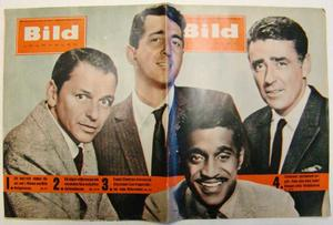 "Bildjournalen nr 13 1961 The ""Rat pack"""