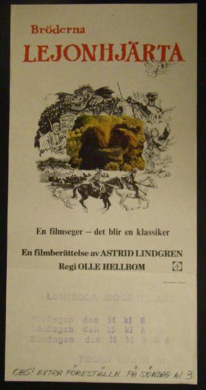 LIONHEART BROTHERS (ASTRID LINDGREN)