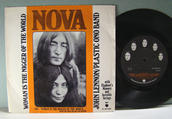 JOHN LENNON Woman is the nigger of the world  RARE SWE 1972 PS