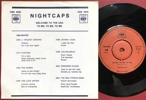 NIGHTCAPS - Welcome to the USA Swe PS 1970