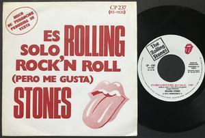 ROLLING STONES - It´s only rock´n´roll Spansk PROMO AS / 45 1974