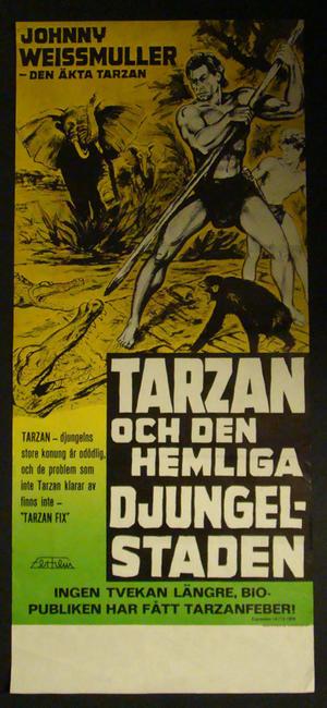 TARZAN & DEN HEMLIGA DJUNGELSTADEN (Johnny Weissmuller)
