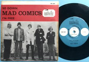 MAD COMICS - So down / I´m free Swe PS 1965
