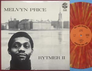 MELVYN PRICE - Rytmer II Swe-orig MULTI-COLOURED vinyl LP 1971