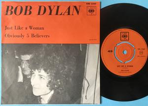 BOB DYLAN - Just like a woman Swe PS 1966