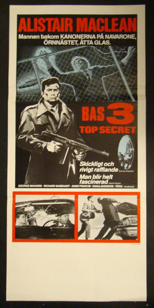 BAS 3 TOP SECRET (ALISTAIR MACLEAN, GEORGE MAHARIS)