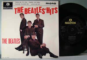 "BEATLES - ""Hits"" UK EP 1963"