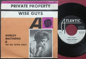 SHIRLEY MATTHEWS - Private property Swe PS 1964