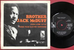 BROTHER JACK McDUFF - Down home style Swe PS 1969