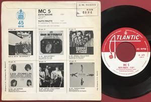 MC5 - Tonight Spansk PS 1970