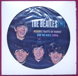 "BEATLES - ""Souvenir of their visit to America"" USA Bildskiva EP"