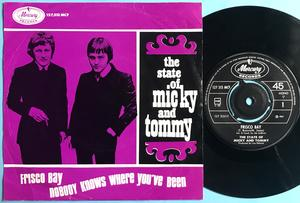 The STATE OF MICK & TOMMY - Frisco bay Norsk PS 1967