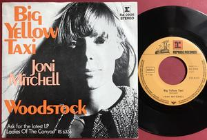 JONI MITCHELL - Big yellow taxi Ger PS 1970