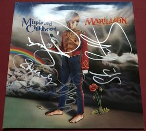 MARILLION -  Misplaced childhood SIGNERAD LP 1985