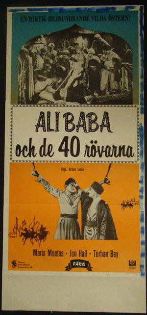 ALI BABA AND THE FORTY THIEVES (MARIA MONTES, JON HALL, TURHAN BEY)