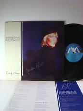 Agnetha Fältskog ABBA Eyes of a Woman Swe LP -85 SIGNED!