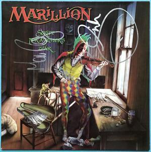 MARILLION -  Script for a jester´s tear SIGNERAD LP 1983