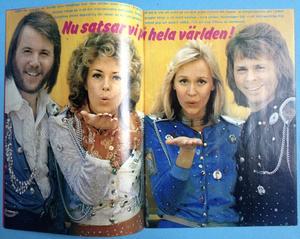 TIFFANY - Nr 6 1974 SWEET-omslag + ABBA / Deep purple AFFISCH!