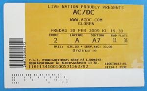 AC/DC - Stockholm 2009