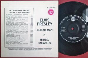ELVIS PRESLEY - Guitar man Australien PS 1967