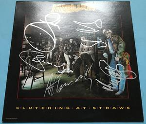 MARILLION - Clutching at straws SIGNERAD Canada-orig LP 1987