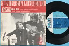BJÖRN & BENNY (ABBA) - She´s my kind of girl Swe PS 1970