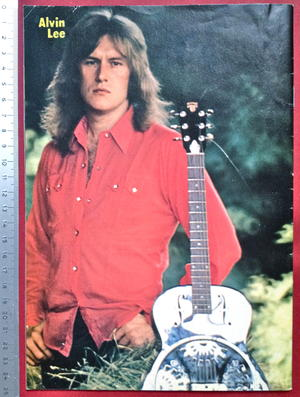 TIFFANY - Nr 11 1974 + Mick Ronson / Tears-AFFISCH!