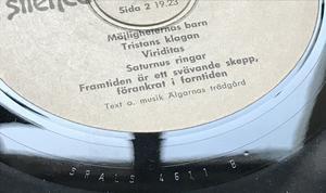 ÄLGARNAS TRÄDGÅRD - Framtiden är ett svävande skepp.. Swe LP 1972
