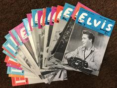 ELVIS MONTHLY - 24 issues 1962-65