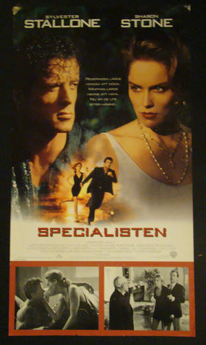THE SPECIALIST (SYLVESTER STALLONE, SHARON STONE)