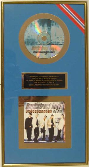 Backstreet Boys – Guldskiva