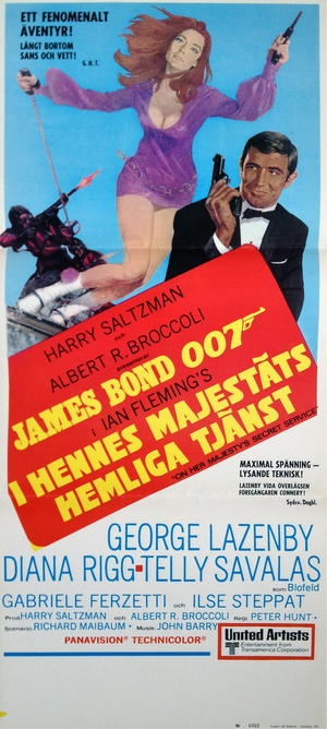 JAMES BOND 007 - ON HER MAJESTY`S SECRET SERVICE (1969)