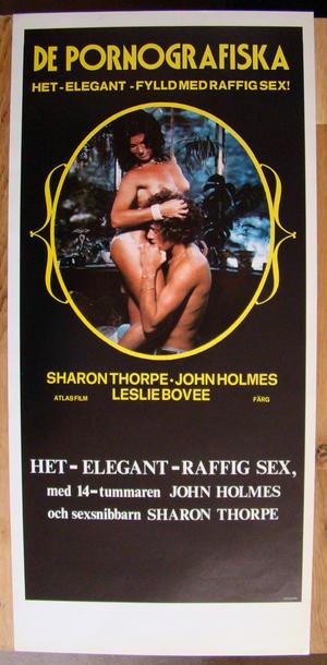 De pornografiska med John Holmes USA (1980's)
