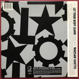 """NITZER EBB - Let your body learn US-orig SIGNED 12"""" 1987"""