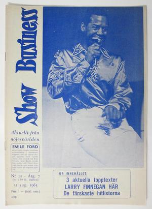 SHOW BUSINESS - 1963 nr 12