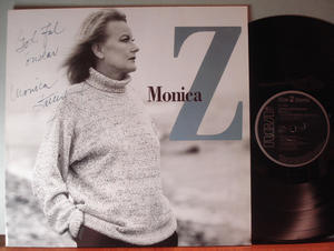 Monica Z Monica Zetterlund Signerad/Autograferad LP