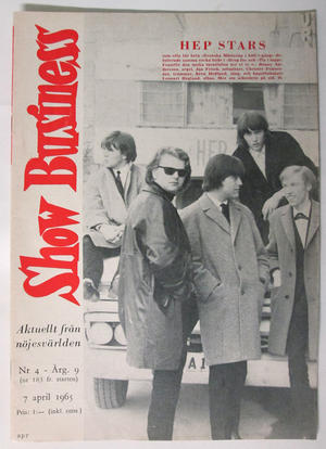 SHOW BUSINESS - 1965 nr 9 Heps Stars omslag