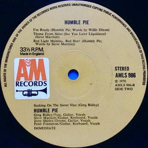 "HUMBLE PIE - ""same"" UK-orig  LP 1970"