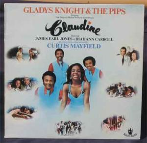 CLAUDINE - Gladys Knight & The Pips O.S.T / LP 1974