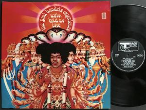 JIMI HENDRIX - Axis bold as love UK-orig stereo LP 1967