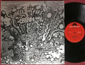 CREAM - Wheels of fire UK-orig 2LP 1968