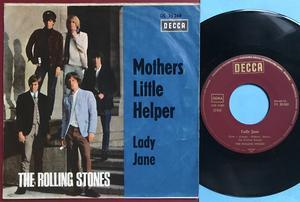 "ROLLING STONES - Mothers little helper Ger ""Treppen"" PS 1966"