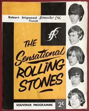 ROLLING STONES - 1964 UK turnéprogram