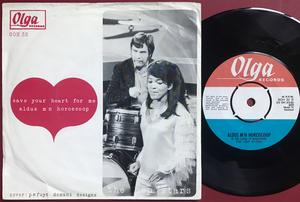 HEP STARS - Save your heart for me Holland PS 1967