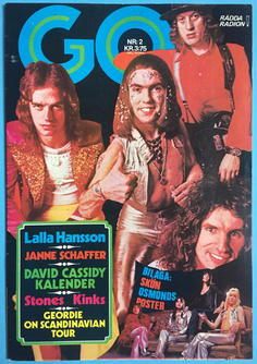 GO magazine - no 2 1973 SLADE  cover