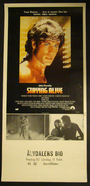 STAYING ALIVE (JOHN TRAVOLTA )