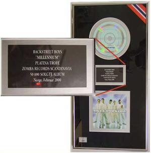 Backstreet Boys - Platinum record