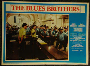 THE BLUES BROTHERS (1980) Lobby card