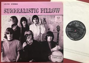 JEFFERSON AIRPLANE - Surrealistic pillow Tysk-orig LP 1967