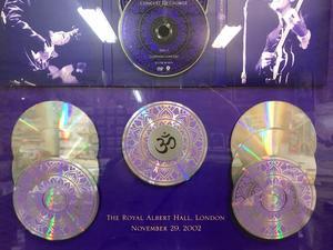 GEORGE HARRISON  - Concert for George 2xDVD PLATINASKIVA 2002